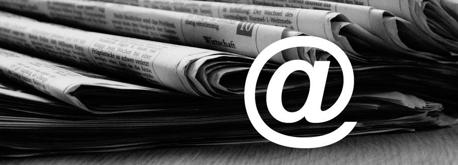 Newsletter Anmeldung Stadt Weiden