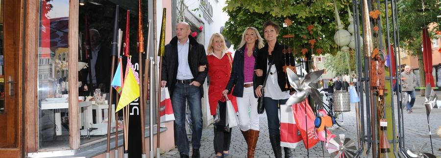 Shoppen in Weiden in der Oberpfalz